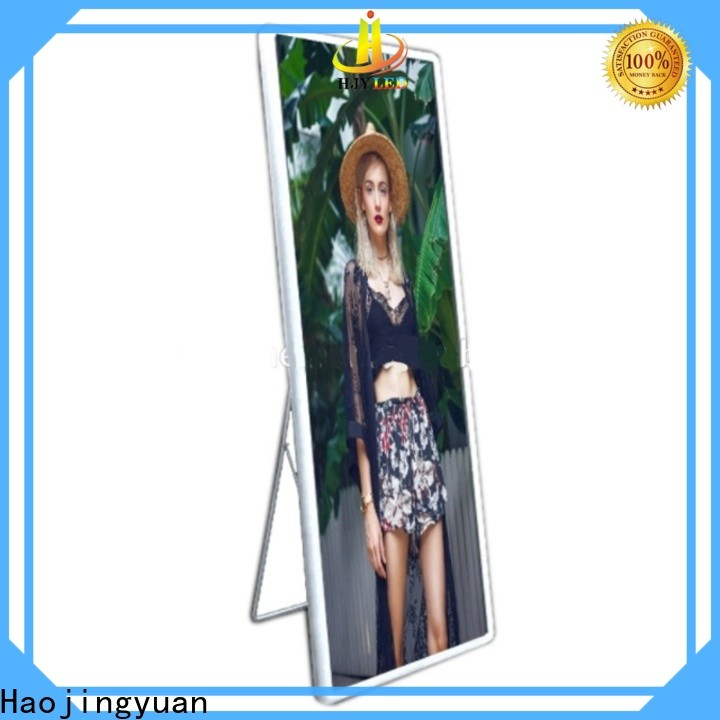 High-quality poster led display advertising factory for street