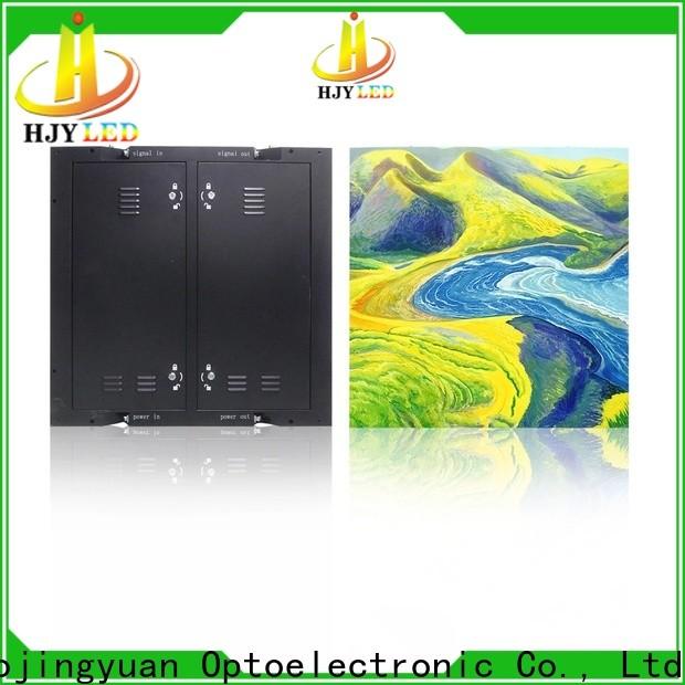 Haojingyuan fixed fixed led display company for school