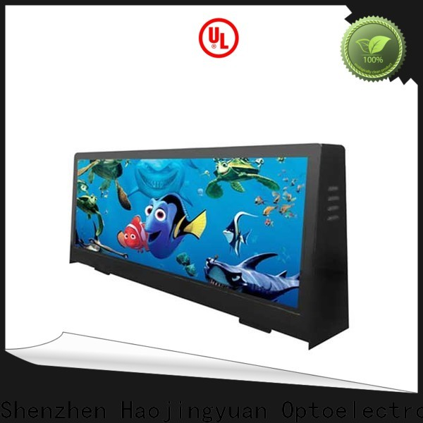 Haojingyuan Latest taxi led display manufacturers for restaurant