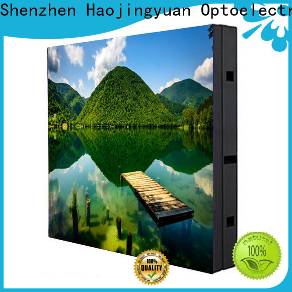 Haojingyuan Top waterproof led display board Suppliers for school