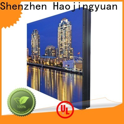 Haojingyuan advertising indoor led display Supply for hotels