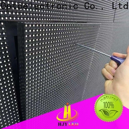 Haojingyuan Top led road display manufacturers for school