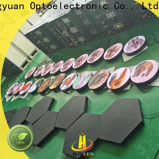 Haojingyuan Top mobile led display factory for birthday party