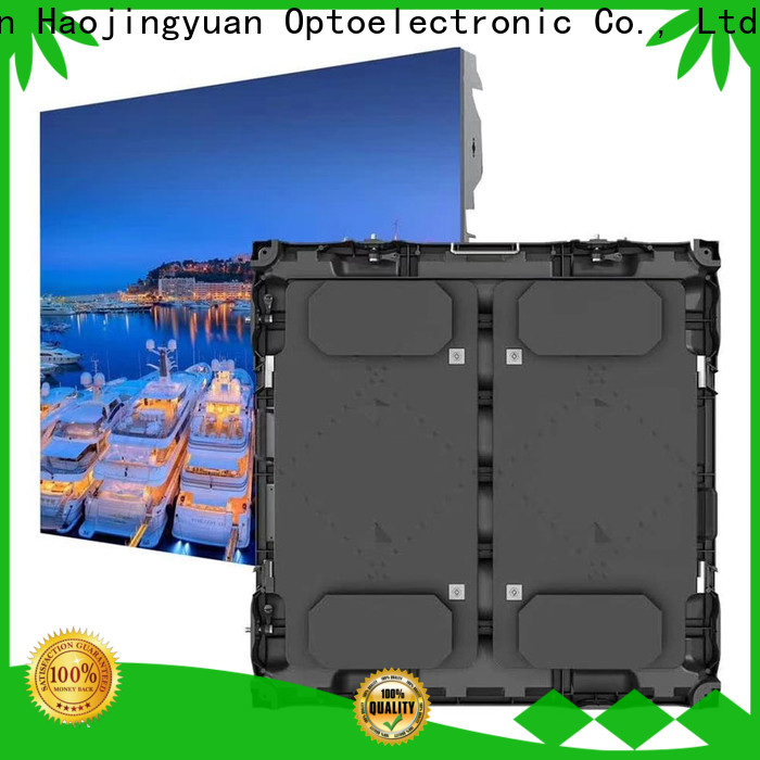 Haojingyuan led stadium led display manufacturers for salon