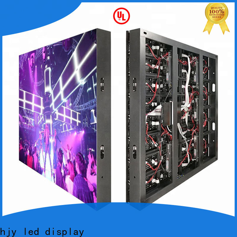 Haojingyuan New fixed led panel factory for hotels