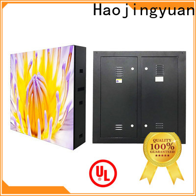 Haojingyuan 160160mm outdoor led display Suppliers for school