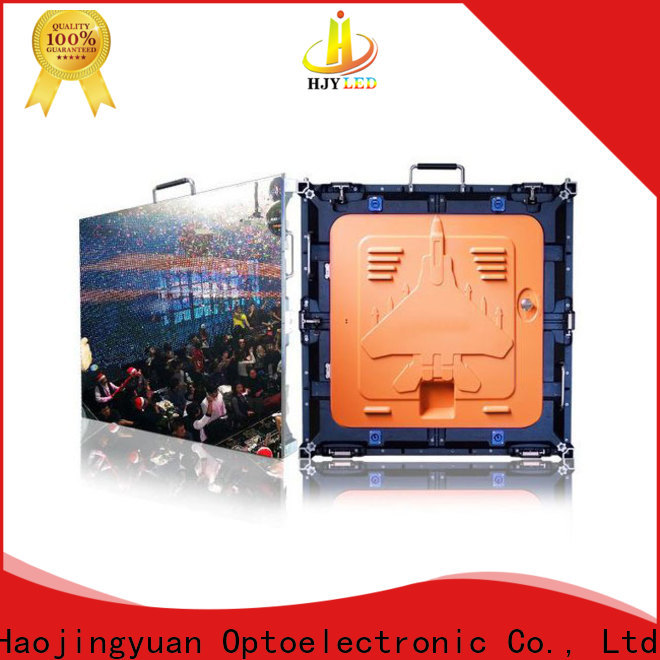Haojingyuan Top led monitor high resolution Supply for sea port