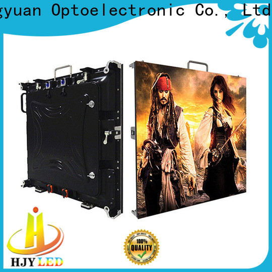 Haojingyuan Best high definition led display for business for building