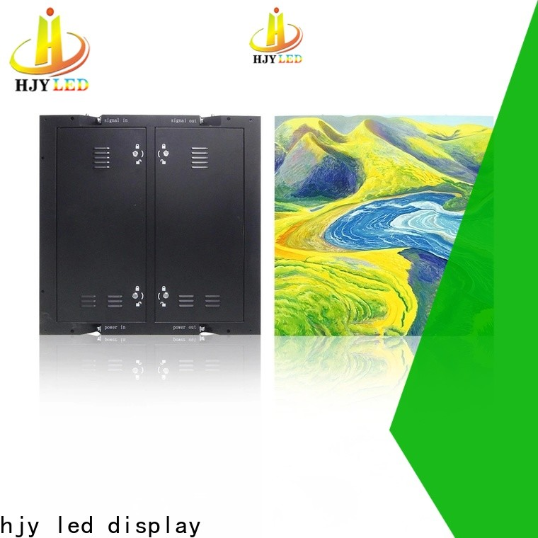 Haojingyuan Wholesale indoor fixed led screen Supply for school