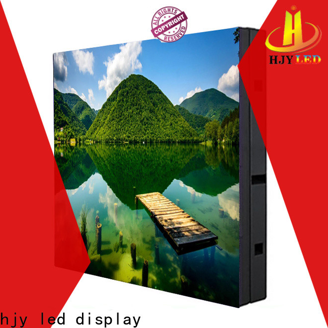 Haojingyuan High-quality fixed led display company for lobby