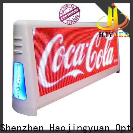 Top taxi led display waterproof factory for shopping mall