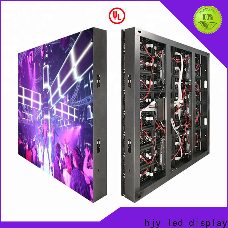 Haojingyuan New fixed led display Suppliers for hotels