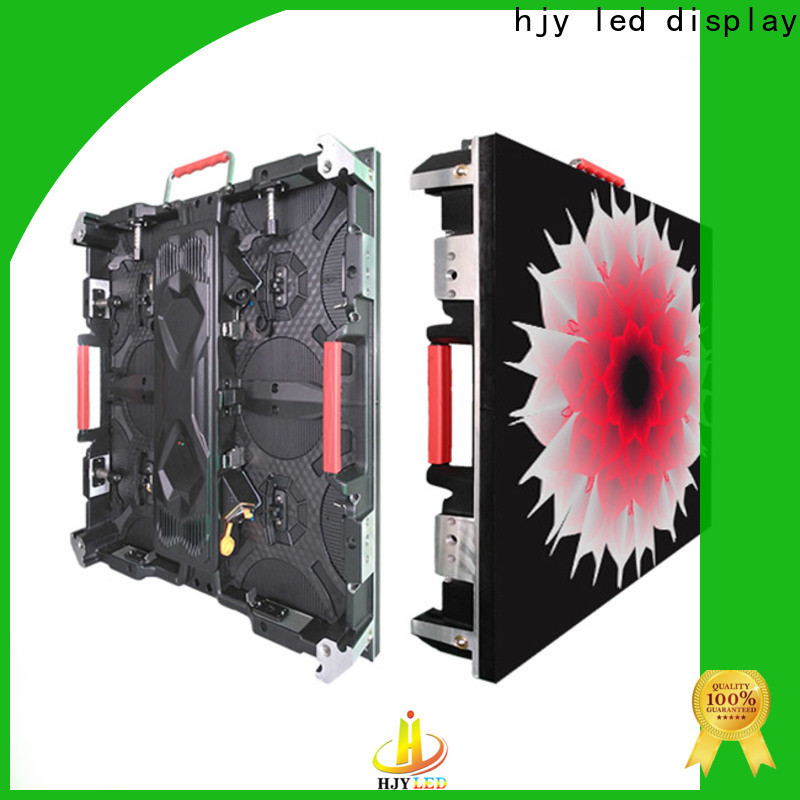 High-quality high definition led display indoor company for sea port