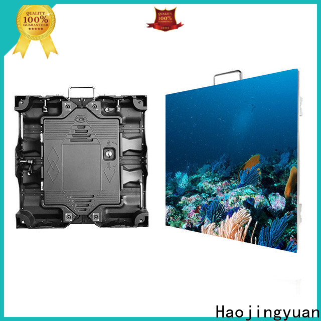 Haojingyuan Latest small video display screen Supply for building