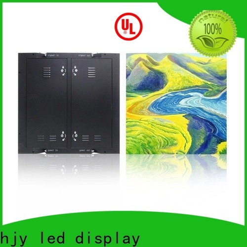 Haojingyuan New advertising led display fixed Suppliers for hotels