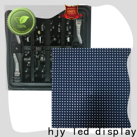 Haojingyuan blue led display module Suppliers for cafeteria