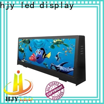 Haojingyuan top taxi led display manufacturers for shopping mall