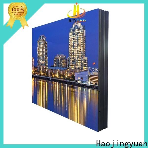 Haojingyuan waterproof waterproof led display board manufacturers for lobby