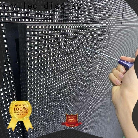 Top indoor fixed led screen advertising factory for school