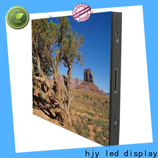Haojingyuan resolution outdoor fixed led display factory for lobby