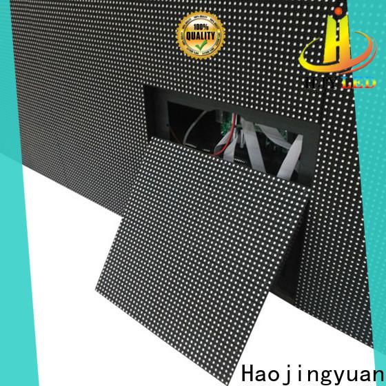 Haojingyuan Best indoor led display company for school