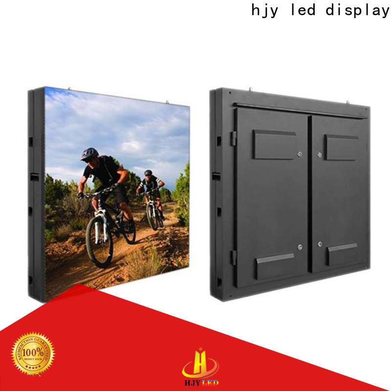 Haojingyuan High-quality advertising led display fixed factory for lobby