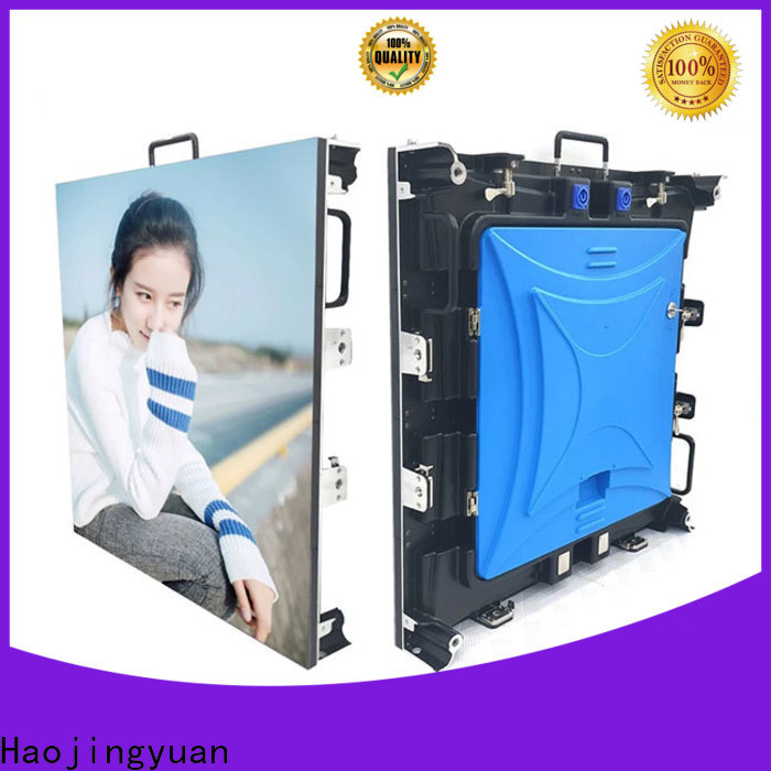 Haojingyuan Top video wall outdoor factory for stadium
