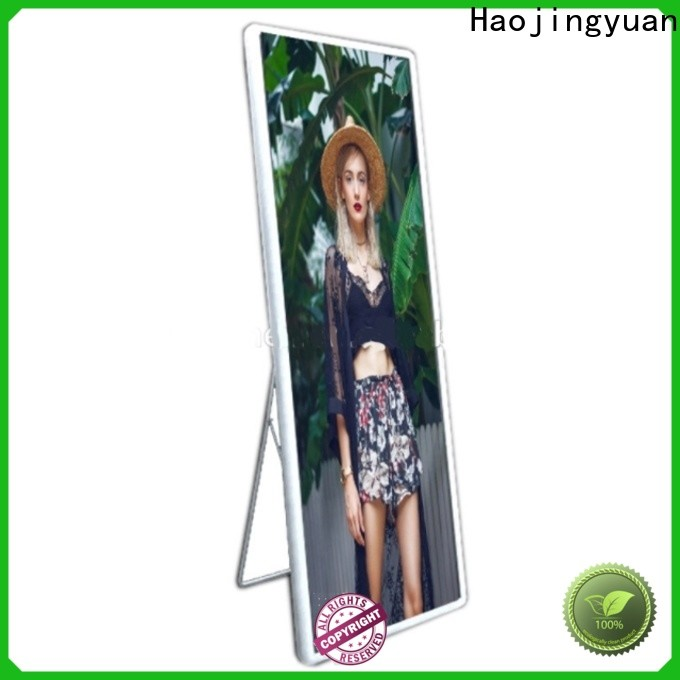 Top poster led display screen for business for street