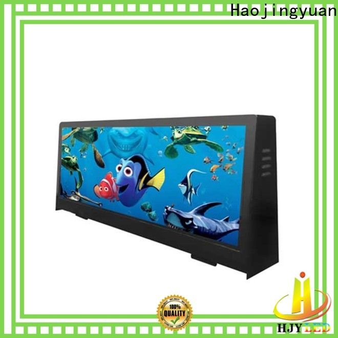 New taxi top led display waterproof manufacturers for shopping mall