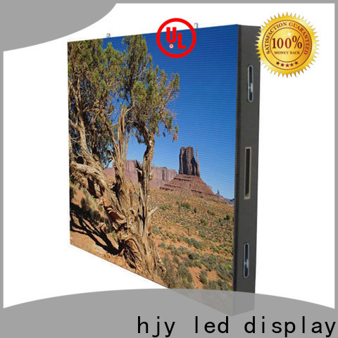 Haojingyuan Wholesale advertising led display fixed manufacturers for lobby