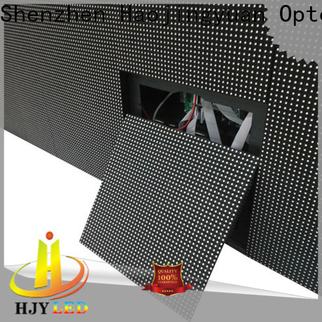 Haojingyuan display fixed manufacturers for lobby
