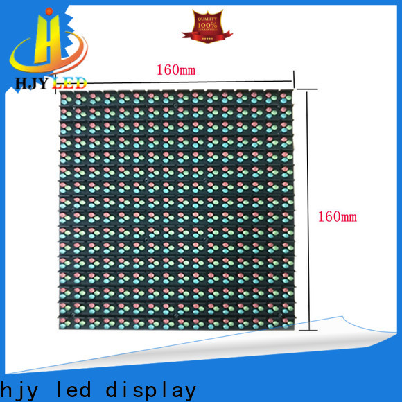 Haojingyuan front fixed led panel for business for school