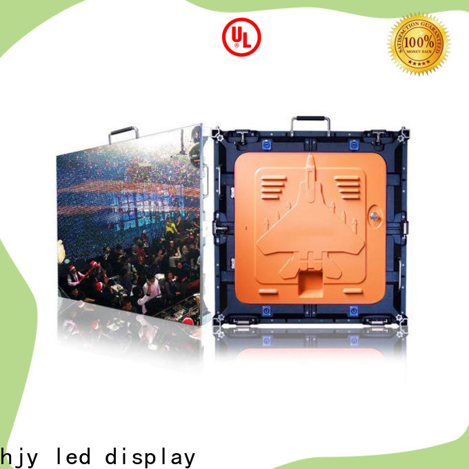 Haojingyuan stage led screen factory for building