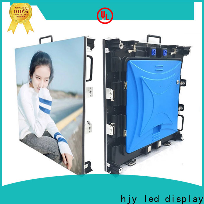 Haojingyuan Top flexible led display panels company for stadium