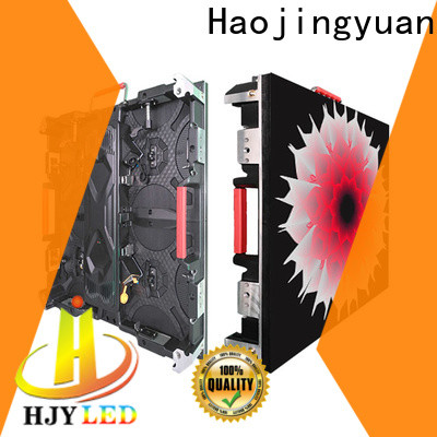 Haojingyuan best outdoor led screen company for building