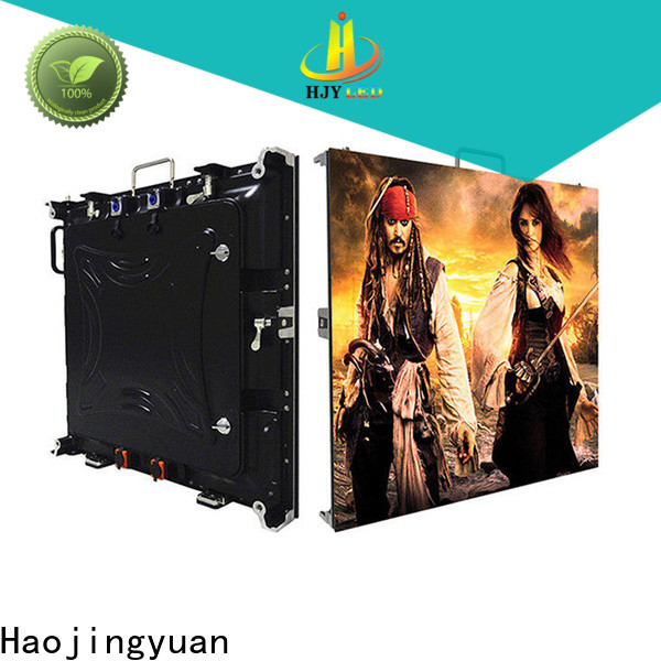 Top led presentation screen for business for sea port