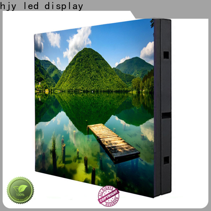 Haojingyuan Top outdoor fixed led screen company for hotels