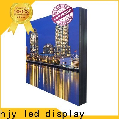 Top building large led matrix display for business for hotels
