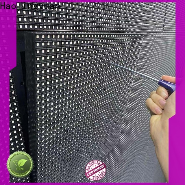 Haojingyuan fixed led panel Suppliers for lobby