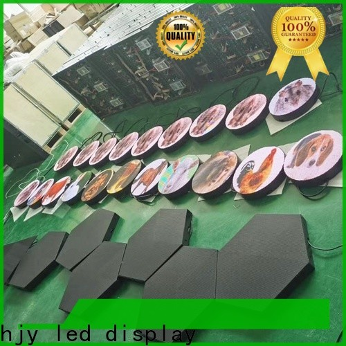 Haojingyuan truck mobile led display Supply for school
