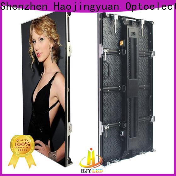 Haojingyuan Custom indoor led screen Suppliers for concert