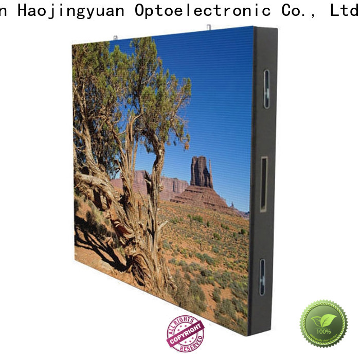 Haojingyuan High-quality led video screen factory for lobby