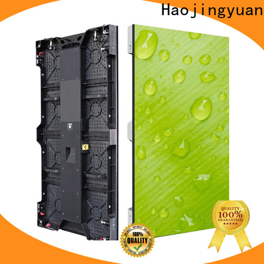 Haojingyuan led screen on stage Supply for shopping mall