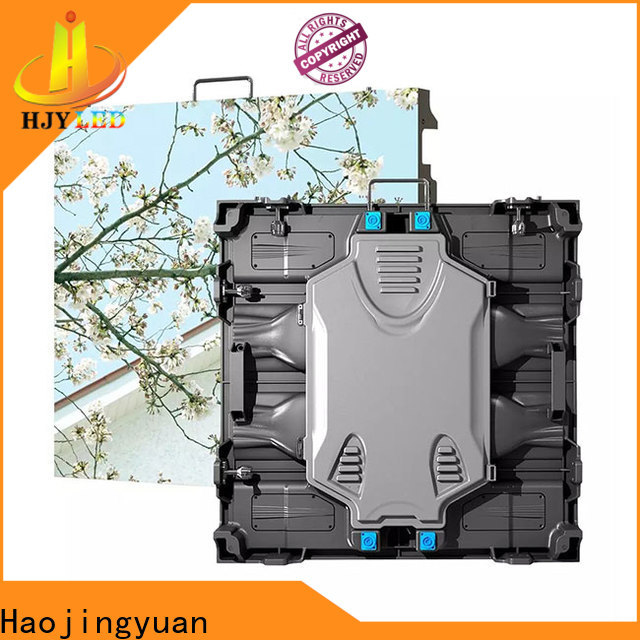 Haojingyuan Best outdoor led large screen display manufacturers for taxi