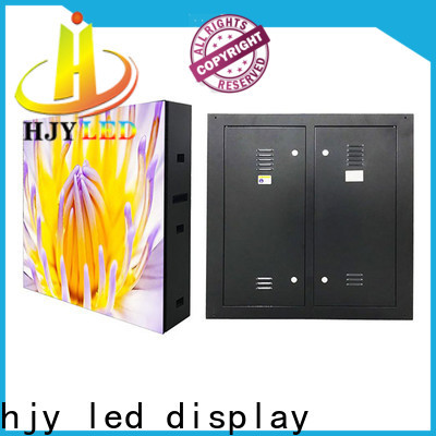 Haojingyuan led display screen factory for hotels
