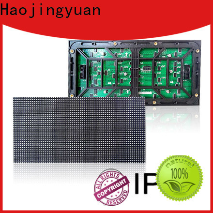Haojingyuan Custom led display module for business for street