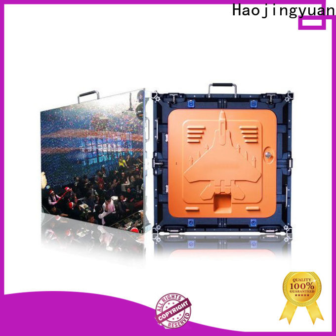 Haojingyuan Best led screen company for building