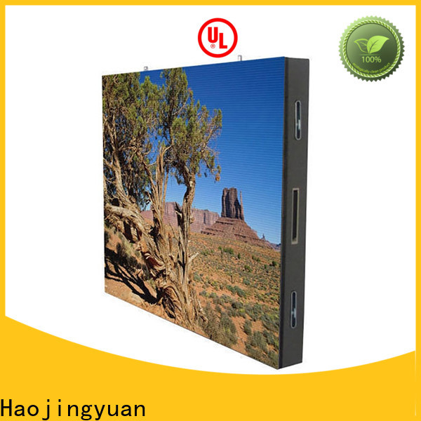 Haojingyuan Custom mobile led display company for school