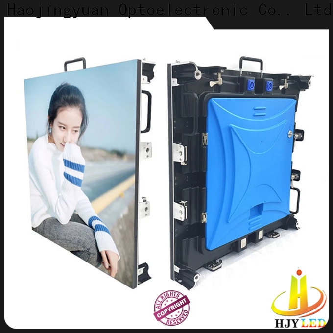 Haojingyuan Wholesale large led outdoor displays Suppliers for concert