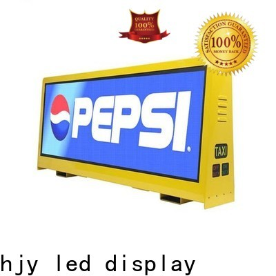 Haojingyuan taxi led sign for business for wedding